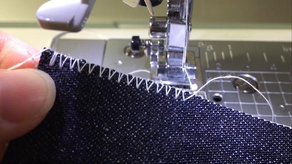 ジグザグ縫いの説明2