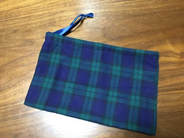 折りマチを作った袋