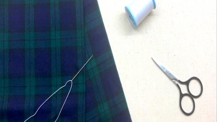手縫い 返し縫い