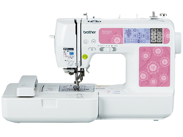 刺繍をやるなら刺繍機能付きミシン