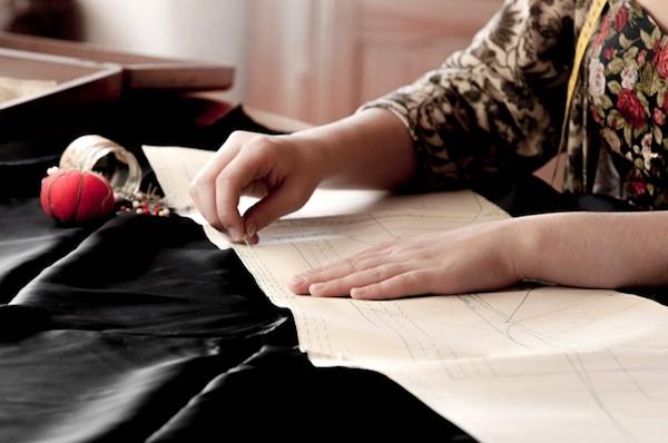 裁縫中のイメージ