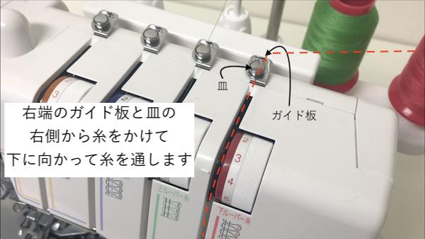 2番目の糸のかけ方4
