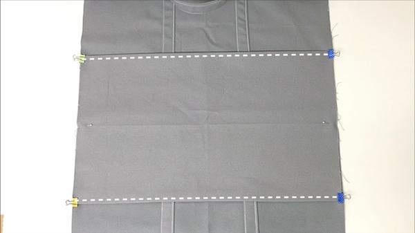 底布を縫い付ける8