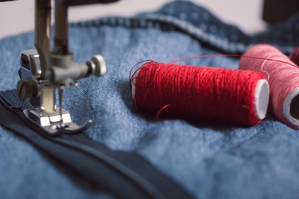 ミシンを使った縫い方