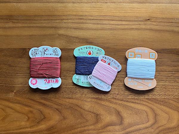 手縫い用糸